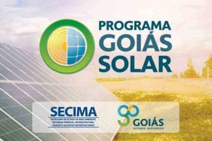 Programa acelera geração solar em Goiás e é exemplo a ser seguido